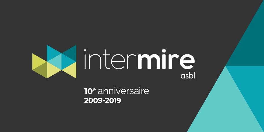 Bannière 10 ans de l'InterMire asbl