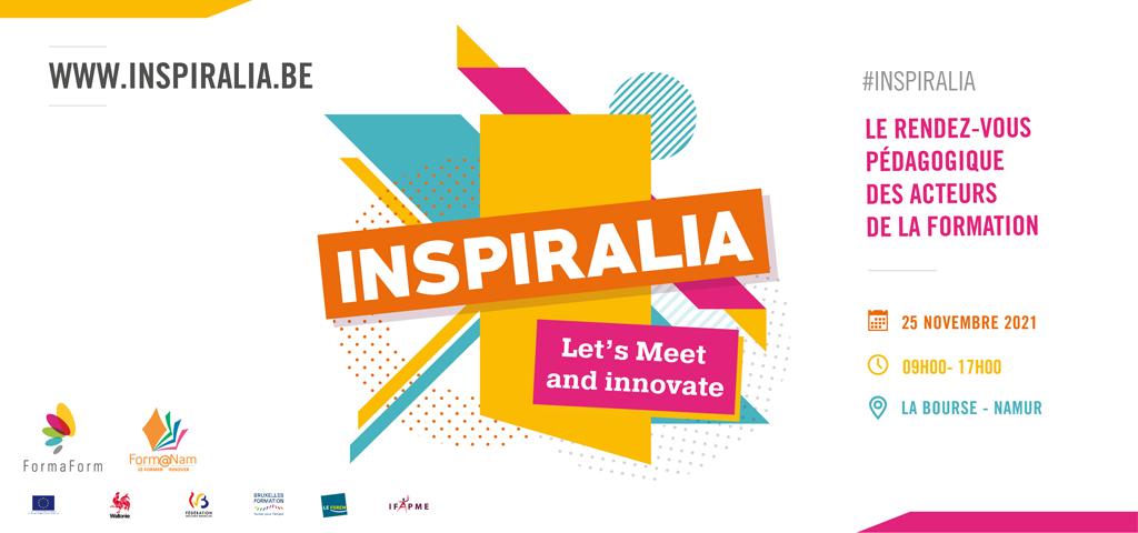 Read more about the article Inspiralia : Le RDV pédagogique des acteurs de la formation